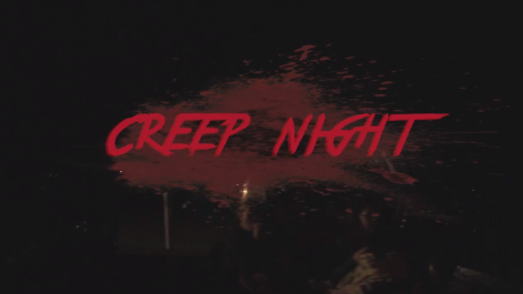 "Creature by Supercycle in the film ""Creep Night"""