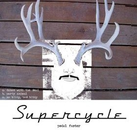 Supercycle (Andrew Bartos & Jennifer Roworth) – No Kitty Bad Kitty // Pedal Faster 2007
